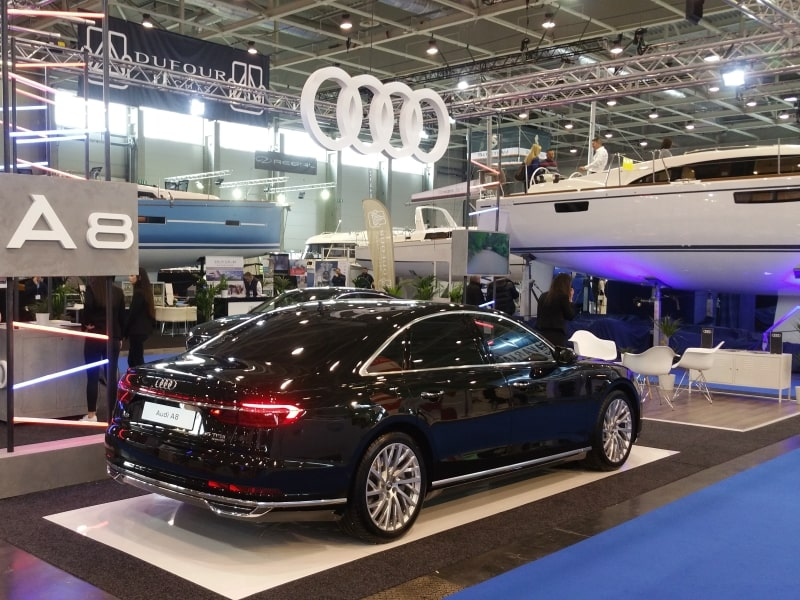 Event agency reference - Audi boat show 2018