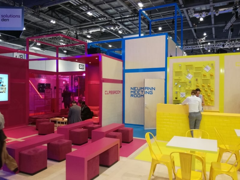 Event agency references London exhibition 2018