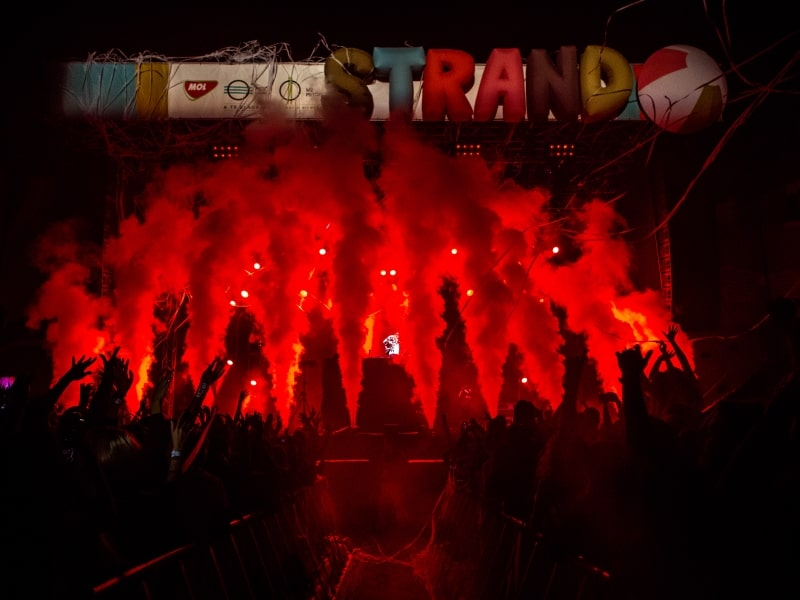 Event agency references - Strand festival 2018
