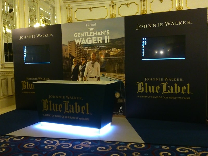 Johnnie Walker stand 2015