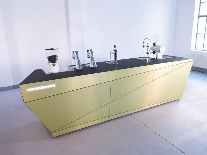 Goosebumps modular barista station